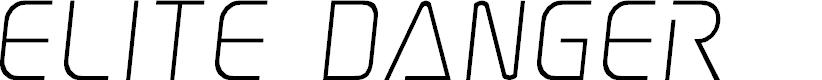Preview image for Elite Danger Semi-Italic