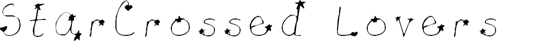 Preview image for Star-Crossed Lovers Light Font