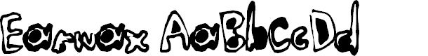 Preview image for Earwax Font
