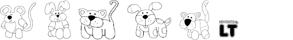 Preview image for Make Your Own Pets LT Font