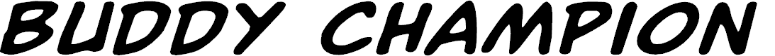 Preview image for Buddy Champion Expanded Italic