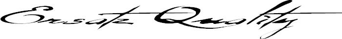 Preview image for Ersatz Quality Font