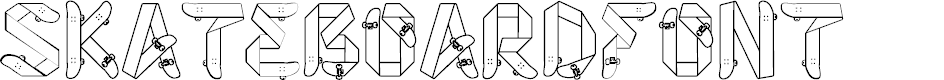 Preview image for Skateboardfont