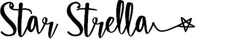 Preview image for Star Strella Font