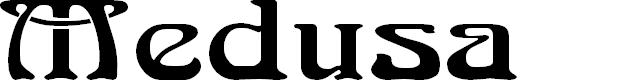 Preview image for Medusa Font