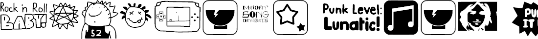 Preview image for Maiden's Song Dingbats Font