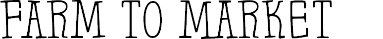 Preview image for Farm to Market Font