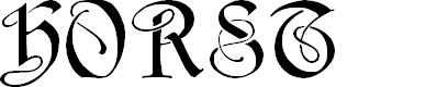Preview image for Horst Regular Font