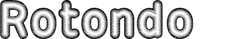 Preview image for Rotondo   Silver Font