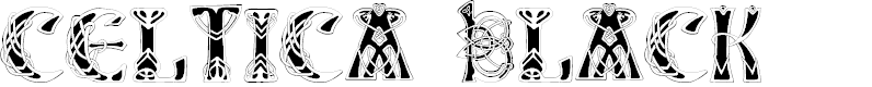 Preview image for Celtica Black Font