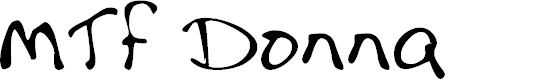 Preview image for MTF Donna Font
