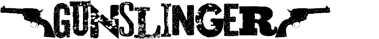 Preview image for Gunslinger Font