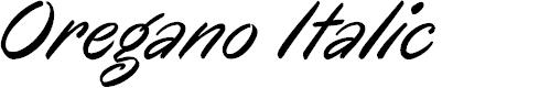 Preview image for Oregano Italic