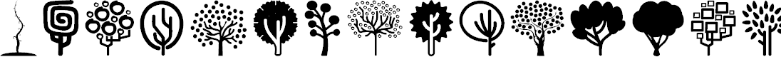 Preview image for Trees Go 2 Font