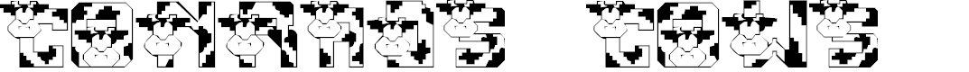 Preview image for LMS Conrad's Cows Font