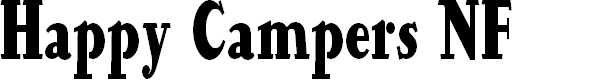 Preview image for Happy Campers NF Font