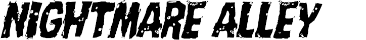 Preview image for Nightmare Alley Light Italic