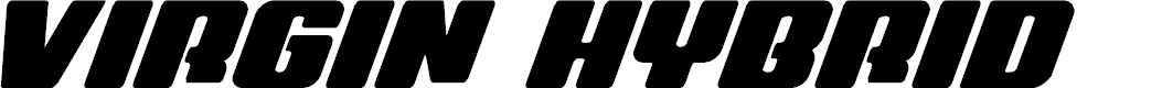 Preview image for Virgin Hybrid Font