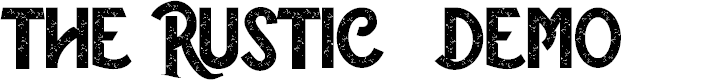 Preview image for The Rustic - Demo Font
