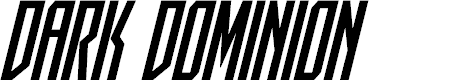 Preview image for Dark Dominion Condensed Italic