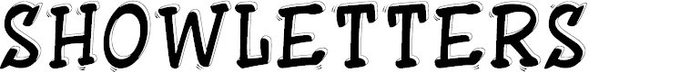 Preview image for ShowLetters Font