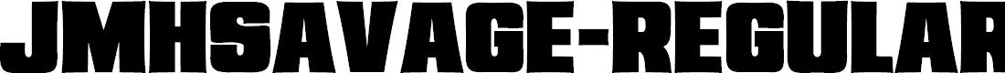 Preview image for JMHSavage-Regular