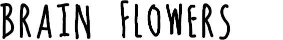 Preview image for Brain Flowers Font
