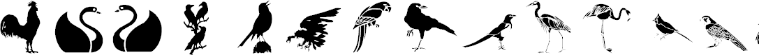 Preview image for lpbirds1 Font