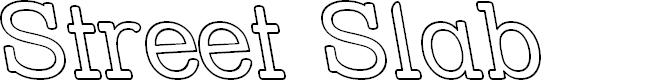 Preview image for Street Slab - Outline Rev