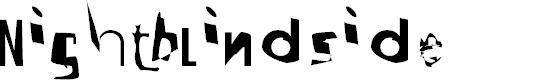 Preview image for Nightblindside Font