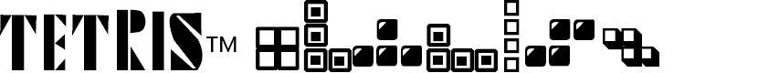 Preview image for Tetris Blocks 2.0 Font