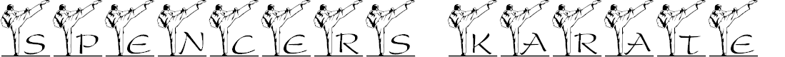Preview image for LCR Spencer's Karate Kick Font