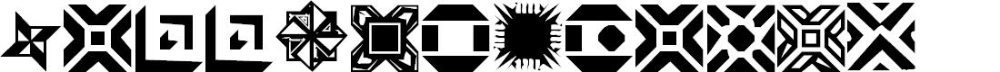 Preview image for CarrDingbats1 Regular Font