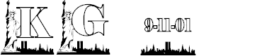 Preview image for KG 911 Font