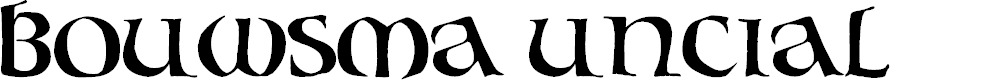 Preview image for Bouwsma Uncial Font