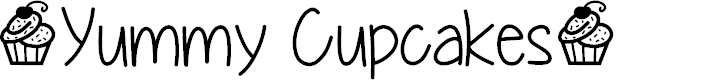 Preview image for YummyCupcakes Font