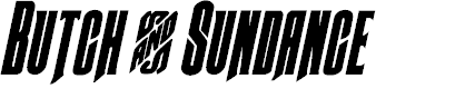 Preview image for Butch & Sundance Bold Italic