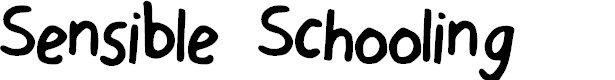 Preview image for Sensible Schooling Font