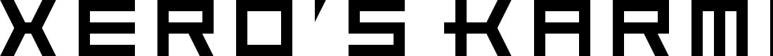 Preview image for Xero's Karma Regular Font