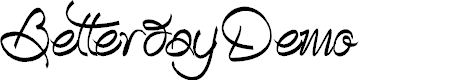 Preview image for BetterdayDemo Font