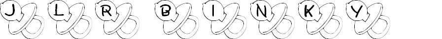 Preview image for JLR Binky Font