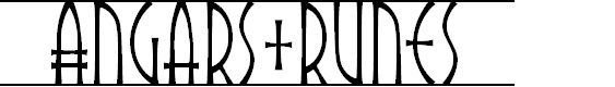 Preview image for Angars Runes PERSONAL USE ONLY Font