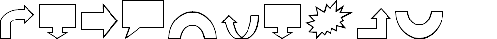Preview image for VariShapes Font