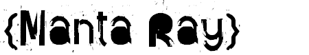 Preview image for {Manta Ray} Font