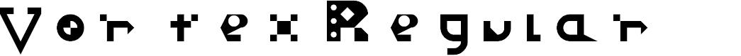 Preview image for Vortex Regular Font