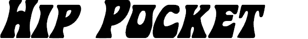 Preview image for Hip Pocket Condensed Italic