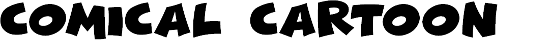 Preview image for Comical Cartoon Font