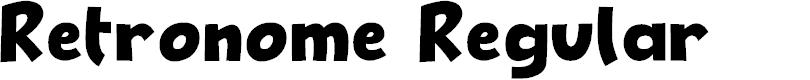 Preview image for Retronome Regular