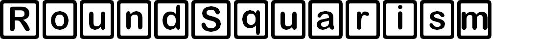 Preview image for D3 RoundSquarism Font