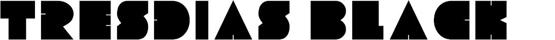 Preview image for Tresdias Black Font